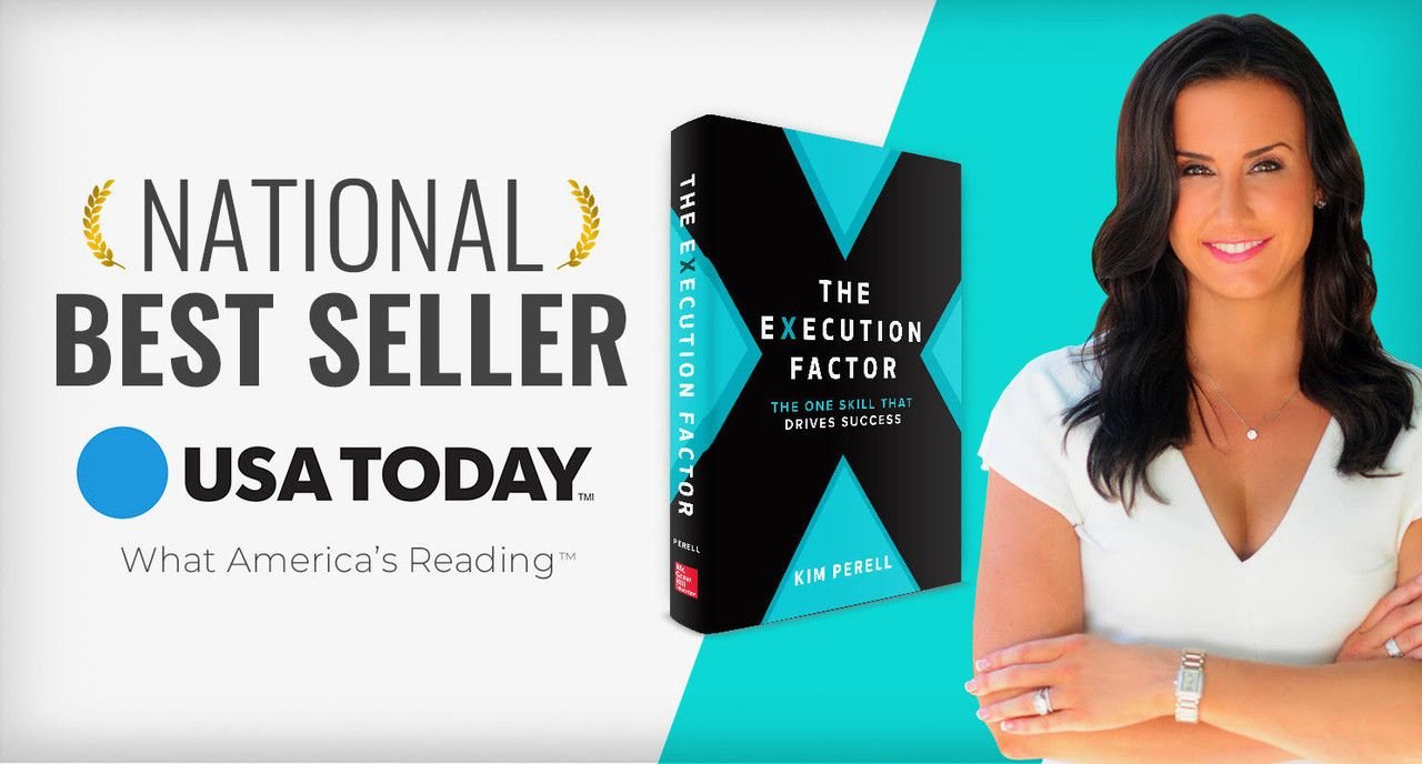 The Execution Factor Turns 1 Month Old & Becomes a National Bestseller!